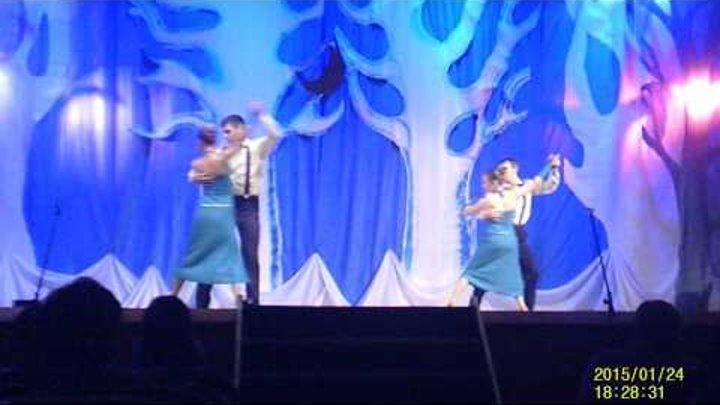 Театр танца Дебют На шоу-концерте Сказка в зимнюю ночь....