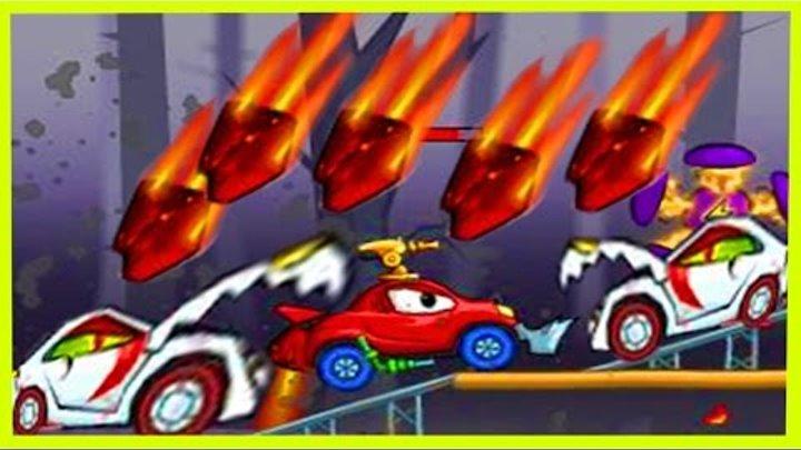 Мультик ИГРА для детей про МАШИНКИ МАШИНА ест МАШИНУ 2(3) Cartoon game for kids about cars