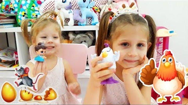 Сказка Курочка Ряба - Сашины сказки - видео для детей