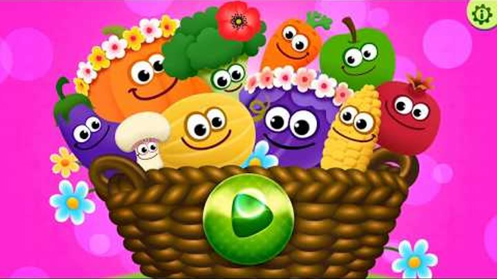 Смешная Еда: Развивающие Игры. (RU) / Игры на русском языке