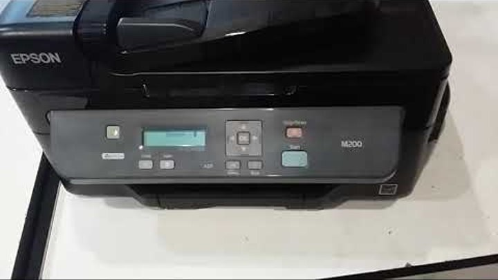 Epson M200 принтер не печатает самостоятельное обслуживание и ремонт