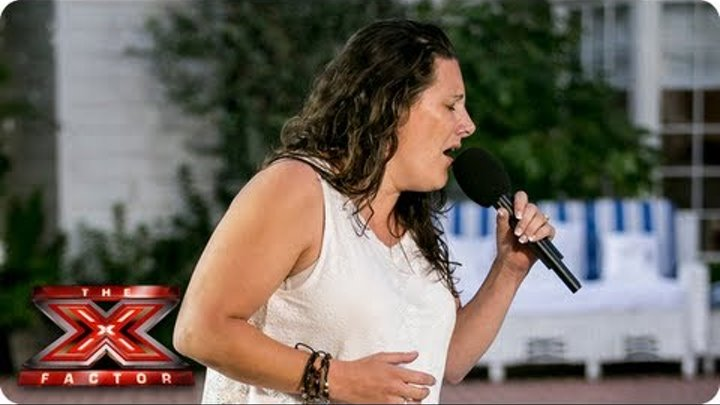 Sam Bailey sings I Have Nothing by Whitney Houston -- Judges Houses -- The X Factor 2013