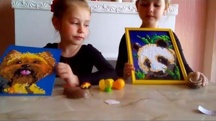 """😻😻Киндер Джой из серии """"Феи Динь-Динь"""", """"Маша и Медведь"""","""" Angry Birds"""" и подарки от Милашки"""