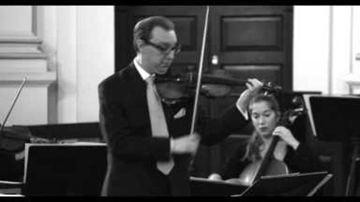 J.S. Bach Violin Concerto E Major BWV 1042 I. Allegro