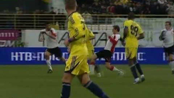 """Гол Это'О в матче """"Анжи - Амкар"""" 2:0"""