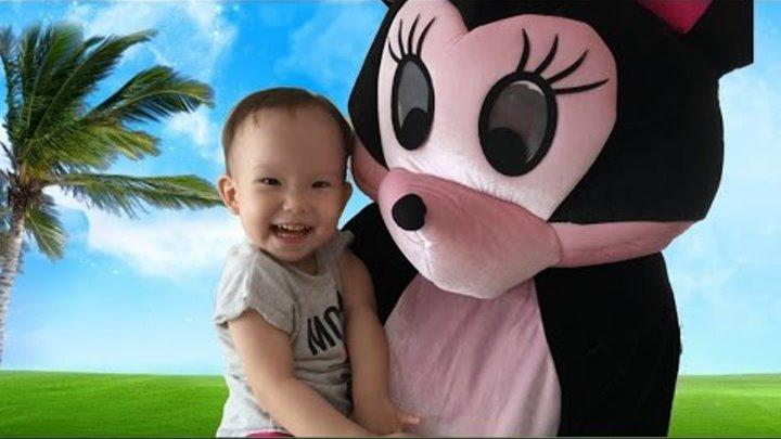 ✿ Minnie Mouse Playground Play Disney Junior Video / Минни Маус Дисней Мультфильмы для детей