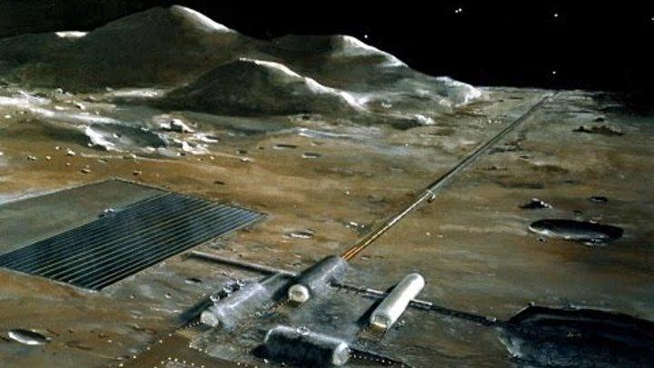 Неизвестные объекты на темной стороне Луны