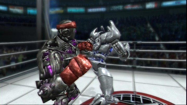 REAL STEEL THE VIDEO GAME [XBOX 360/PS3] Atom vs Danger & Abel vs Pigsy(ЖИВАЯ СТАЛЬ)