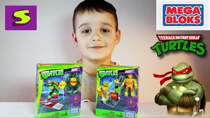 Черепашки ниндзя Мега Блокс Никелодеон Mega Bloks Turtles Nickelodeon