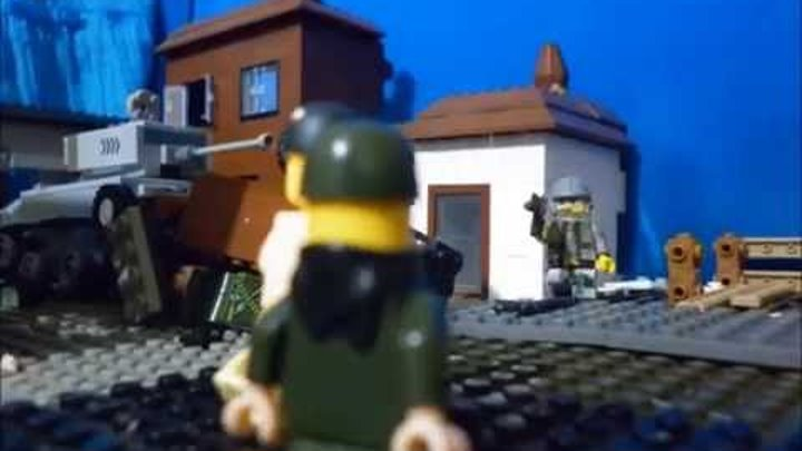 LEGO Вторая мировая война. Битва за Францию.(LEGO WW 2 Battle of France)