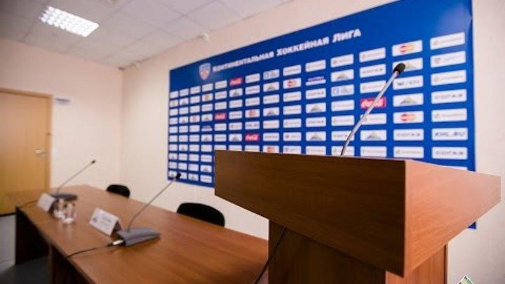 Пресс-конференция Салават Юлаев - Йокерит
