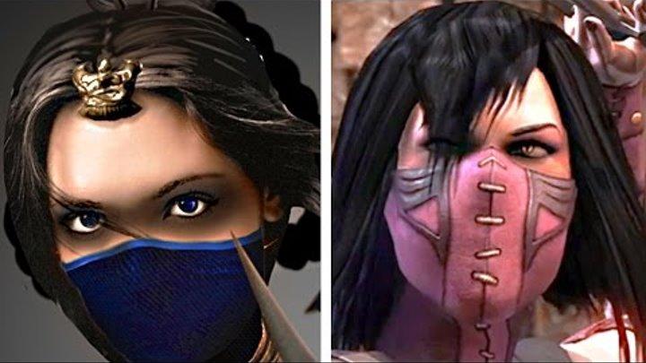 Mortal Kombat X Mileena vs Kitana Gameplay Fatality Brutality - Mortal Kombat 10 (60FPS 1080p)