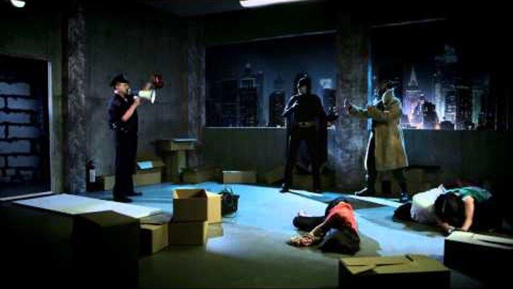 Супергерои. Бэтмен и Бэйн. Заложники.