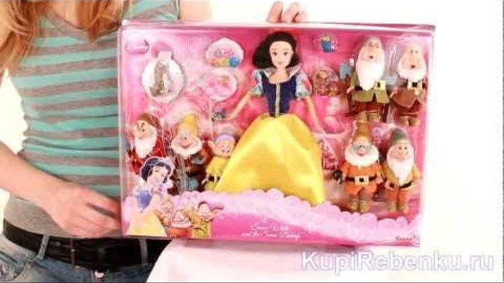 Принцессы Диснея Игровой набор Белоснежка и 7 гномов