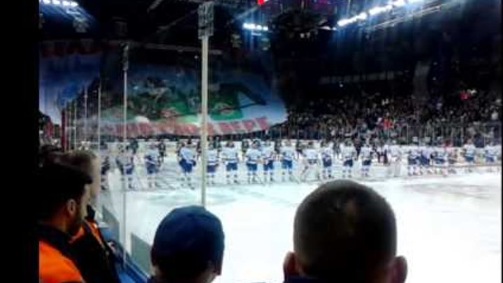 Первый матч финала хоккей 2015-2016 г ( Ак барс- СКА)