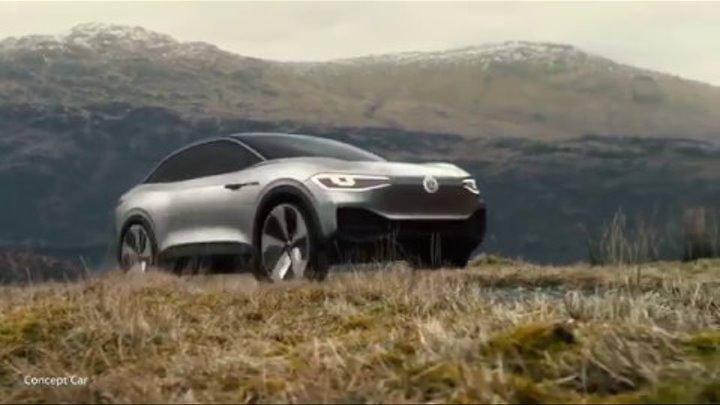 I.D. CROZZ - как новый концепт электро-кроссовера от Volkswagen будет выглядеть в реальности?