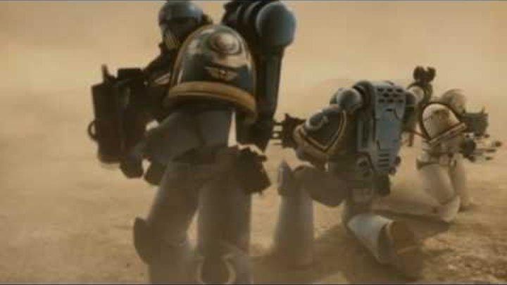 Warhammer 40000 - Ultramarines Fight Scene