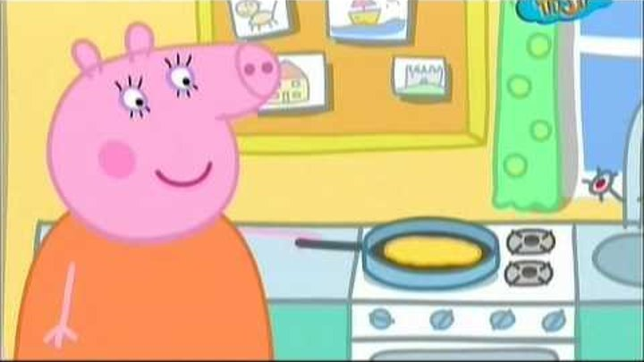 Свинка Пеппа: Блины