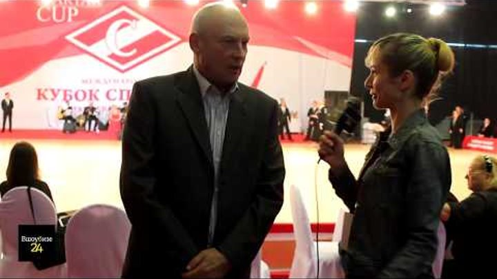 #Вшоубизе24 - Интервью Виктора Супрунова, ген.директора олимпийского центра, корр. Елена Варваричева