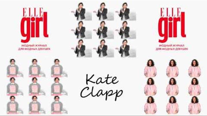 Катя Клэп на обложке журнала ELLE girl
