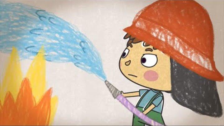 Малыши и Летающие Звери - Если бы - Хорошие развивающие мультфильмы для детей