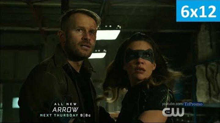 Стрела 6 сезон 12 серия - Промо (Без перевода, 2018) Arrow 6x12 Trailer/Promo