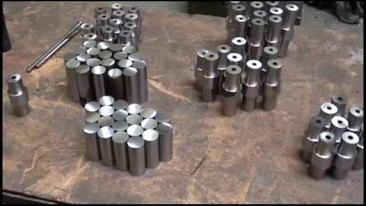 Инструментальный цех Пресс-формы Челюсти для тисков на 4 круглых заготовки