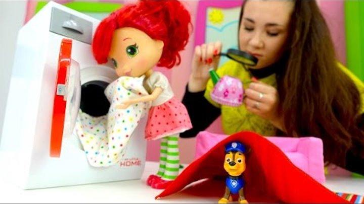 Видео про игрушки: Шарлотта Земляничка и Щенячий Патруль. Валя и Гонщик, Бюро Находок