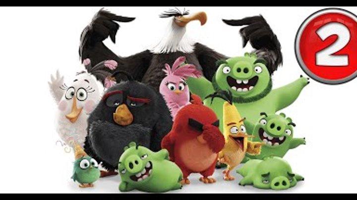 Angry Birds 2016 прохождение злые птички весёлое видео дети играют