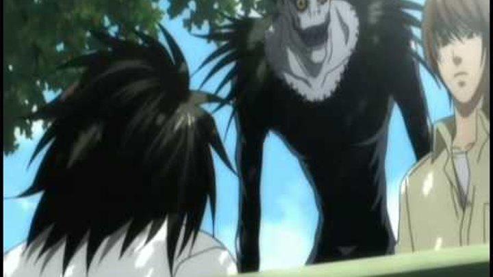 Клип на аниме Тетрадь смерти