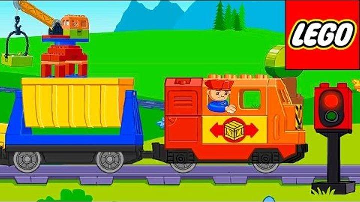 Лего поезд и железная дорога для детей. Обзор детского приложения Lego Duplo Train