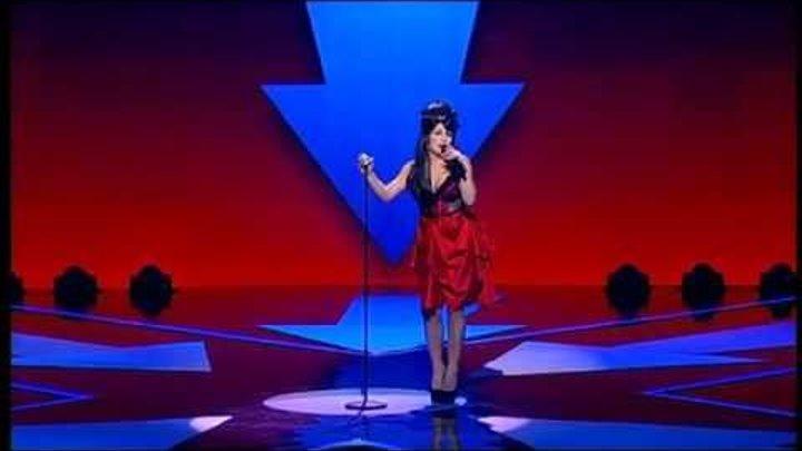 "Оксана Устина. Amy Winehouse - ""Rehab"". X Factor Казахстан. 4 концерт. 13 серия. 5 сезон."
