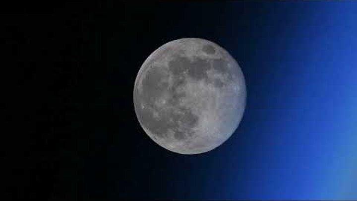 «Исчезающая» Луна. Видео снято без ускорения