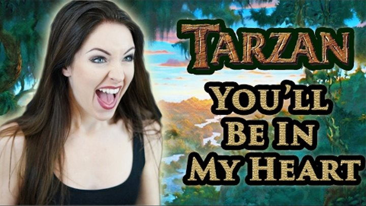 🌴Tarzan - You'll Be in my Heart (Disney Cover by Minniva feat. Quentin Cornet)