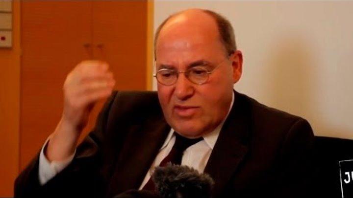 Грегор Гизи: Счета русских смогли заблокировать, а счета ИГИЛ не могут? [Голос Германии]