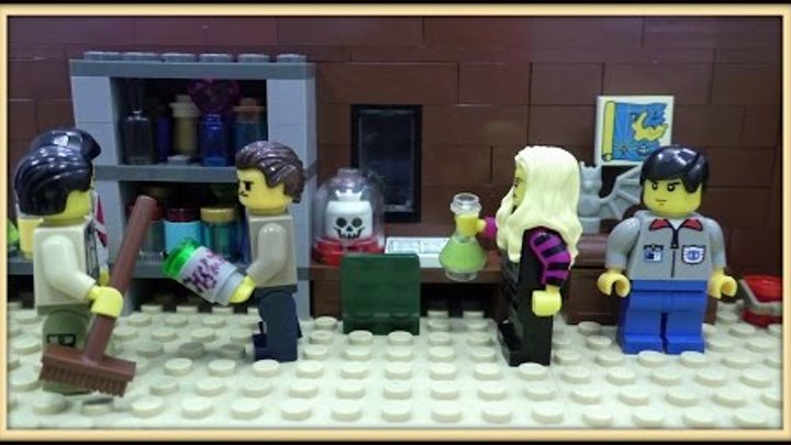 Lego Город Х - 4 сезон ( 14 серия)