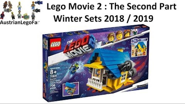 Pics of LEGO Movie 2 The Second Part sets unveiled!!!