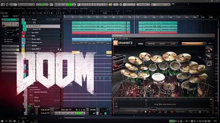Mick Gordon - Flesh & Metal [DOOM 2016 Gamerip] смотреть онлайн