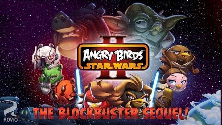 Angry Birds Star Wars 2. Обзор андроид игры angry birds star wars 2.