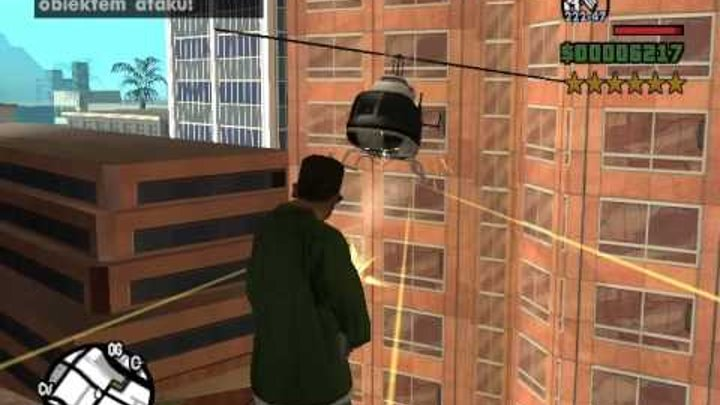 GTA San Andreas 6 Star Wanted Level Video