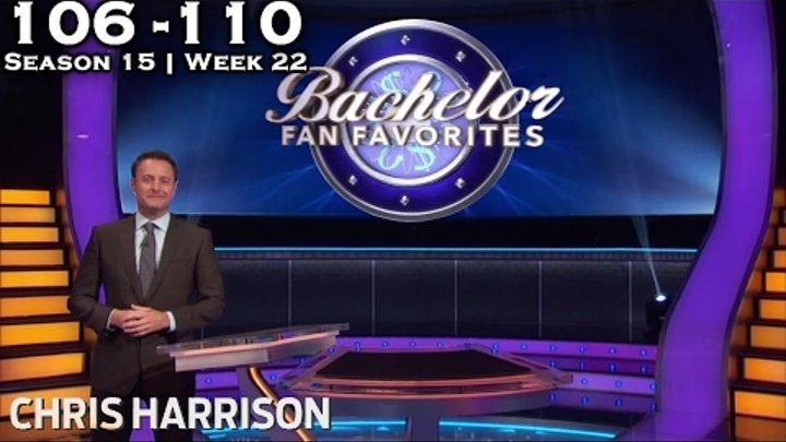 "Who Wants To Be A Millionaire? #22 | Season 15 | Episode 106-110 ""BACHELOR FAN FAVORITES"""
