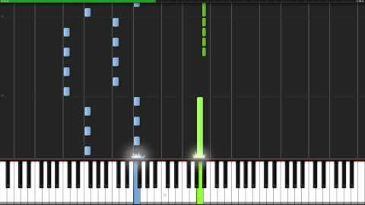 Everything is Awesome!!! - The LEGO Movie [Piano Tutorial] (Synthesia)