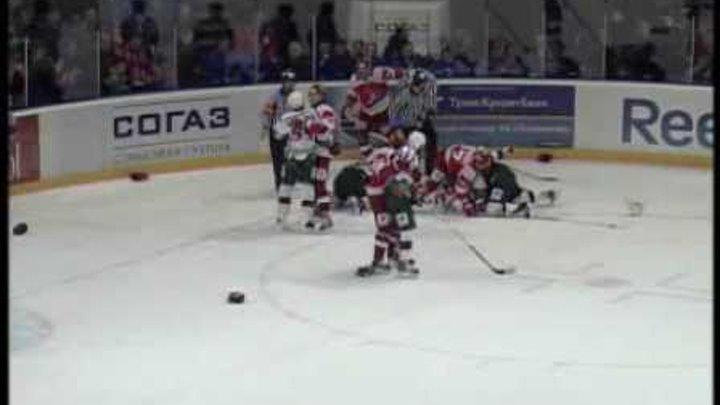 Локомотив - Ак Барс 2:5 (четвертая игра серии)