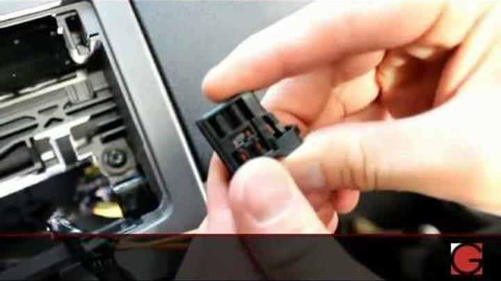 Подключение USB/Android/iPod/iPad/iPhone/Bluetooth/AUX адаптера GROM-MST в  Volvo S40/V50/C30 2005+