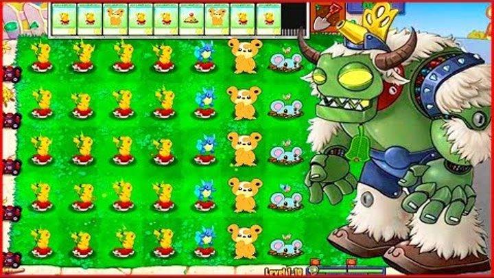 Покемоны го напали на растение против зомби Pokemon go plants vs zombie от Фаника 9