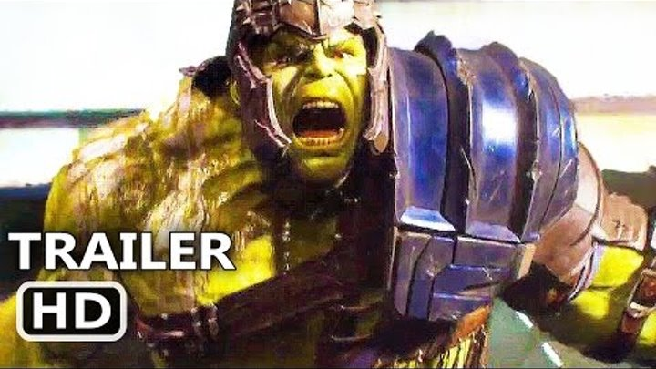 THOR 3 Ragnarok International Trailer (2017) Hulk Marvel Superhero Movie HD