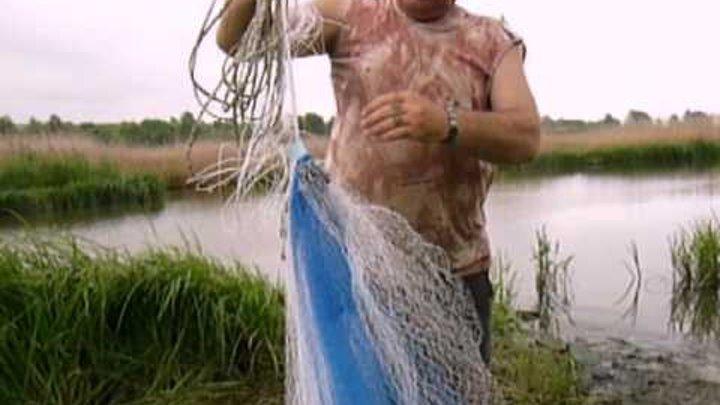 рыбалка НАКИДКОЙ парашютом РЫБЫ МНОГО