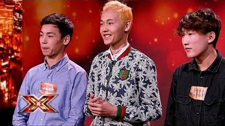 """Группа """"Рэй Бэнд"""". X Factor Казахстан. Прослушивания. 7 сезон. Эпизод 2."""