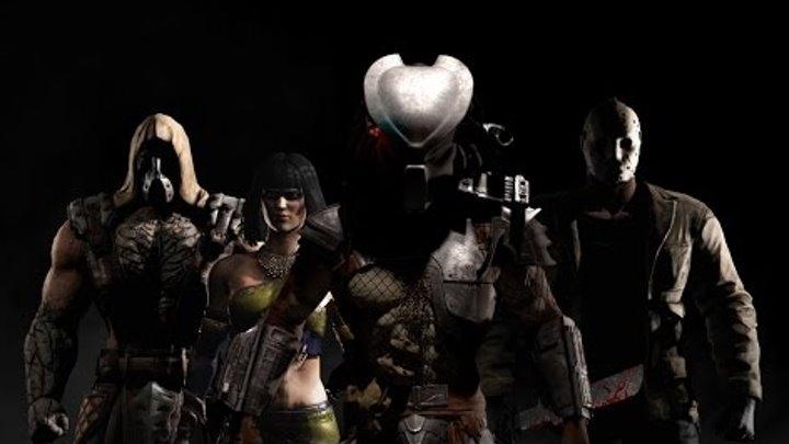 ТОП 10 Фаталити от 5 Персонажей....Mortal Kombat X