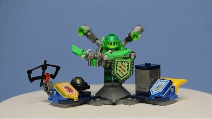 Lego Nexo Knights - Ultimate Aaron, 70332/ Лего Нексо Найтс - Аарон - Абсолютная Сила, 70332.